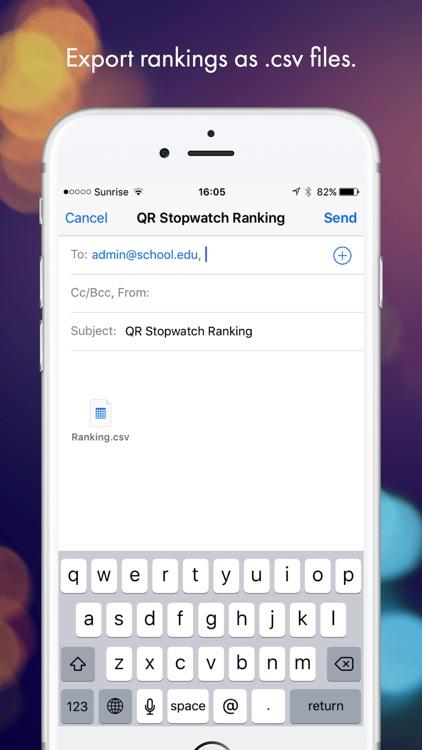 QR Stopwatch screenshot-3