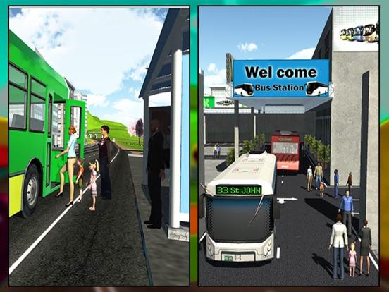 City Coach Bus Driver Simulator 2016 – Offroad Bus Hill Climbing Adventure-ipad-1