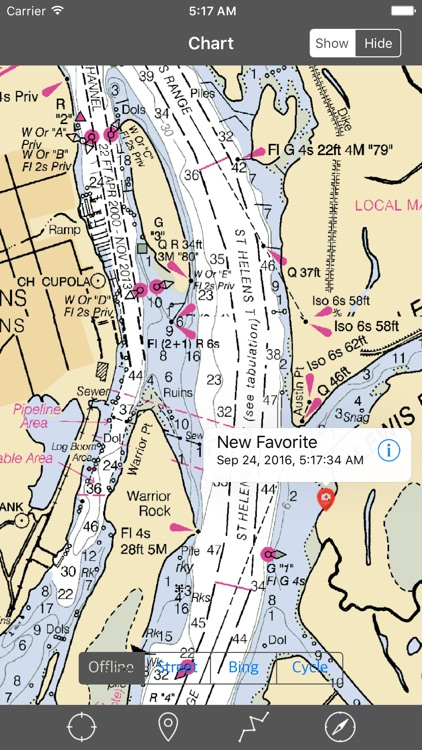 Columbia River – Raster Nautical Charts screenshot-3