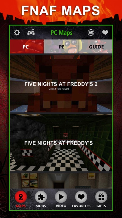 FNAF Maps Pro - Map Download Guide for Five Nights At Freddys Minecraft PE  & PC Edition by JIE SONG