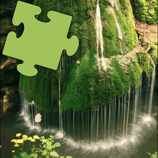 Waterfalls Best Puzzles Fun icon