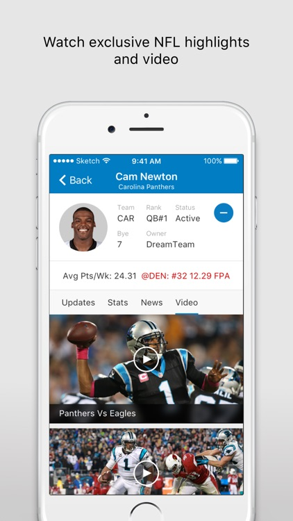 NFL Fantasy Football - Official NFL Fantasy App screenshot-4