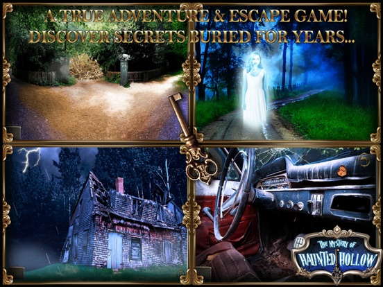 Mystery of Haunted Hollow: Point Click Escape Game-ipad-3