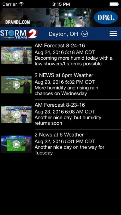 WDTN Weather - Dayton Radar & Forecasts