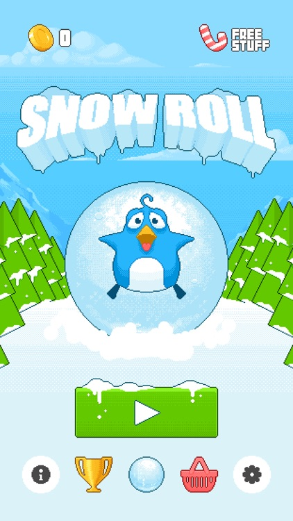 Snow Roll screenshot-4