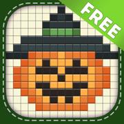 万圣节谜语: 繪圖方塊 (拼圖) 免费