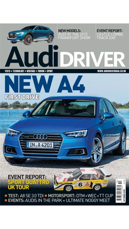 Audi Driver Magazine screenshot-0