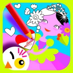 Princess Draw & Color