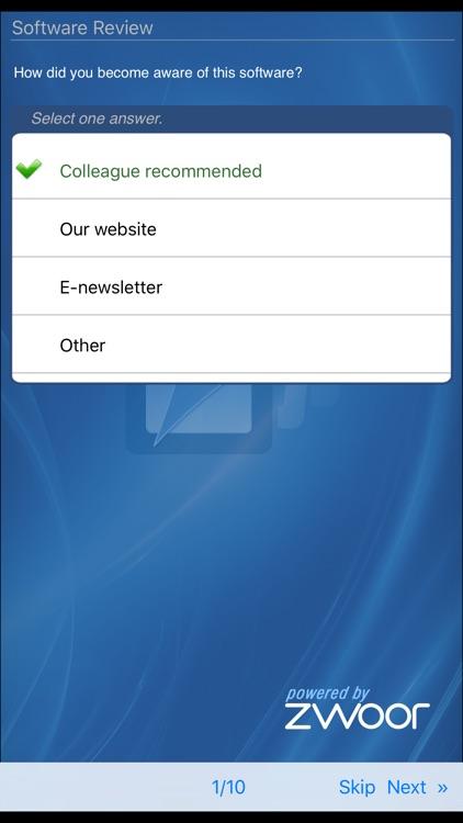 Zwoor Survey screenshot-3