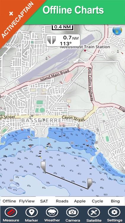 Grenadines & Grenada HD - GPS Map Navigator