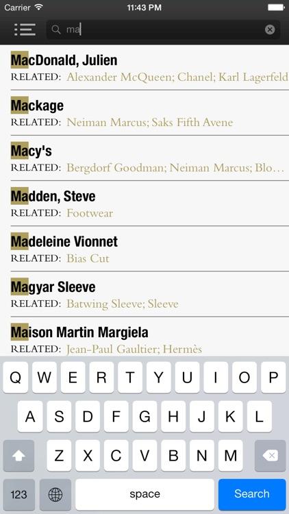 FAD - The ultimate Fashion Dictionary screenshot-4
