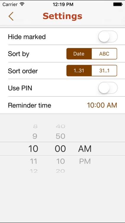 Payments – scheduled earnings and expenses reminder screenshot-3