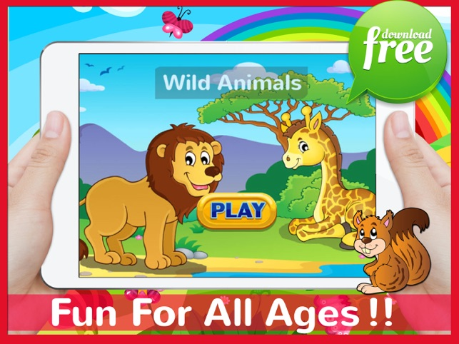 Animals Jigsaw Puzzles Free For Kids And Toddlers!