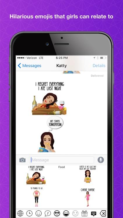 GirlEmoji - Hilarious emojis