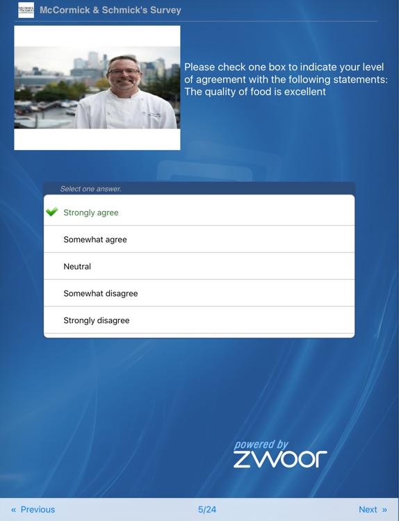 Zwoor Survey for iPad screenshot-3