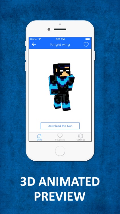 HD SuperHero Skins - Best Skins for Minecraft PE & PC screenshot-1