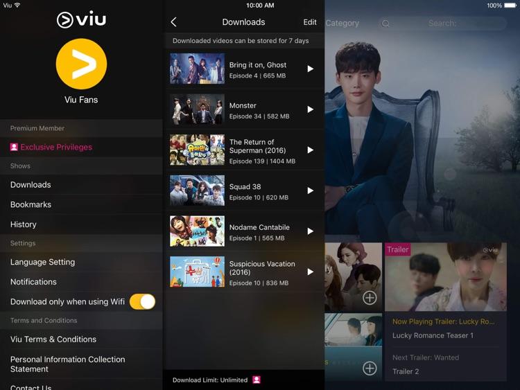 Viu for iPad
