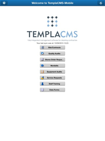 Screenshot of TemplaCMS Mobile Lite