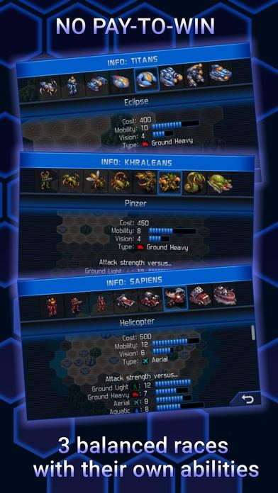 UniWar: Multiplayer Strategyのスクリーンショット4