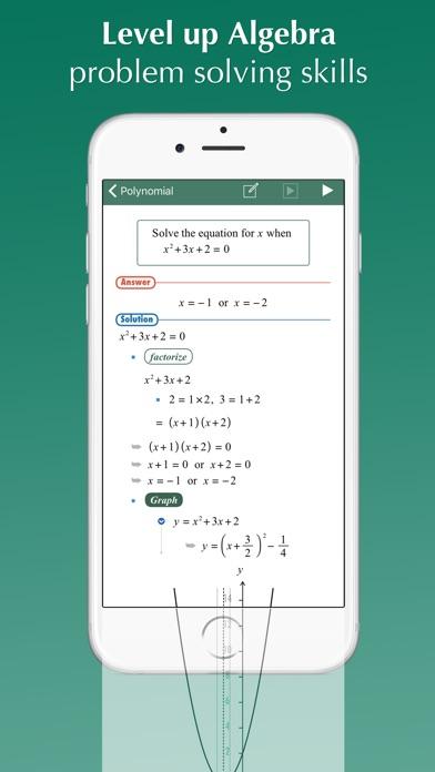 FX Algebra Solver by Euclidus Inc (iOS, United States) - SearchMan ...