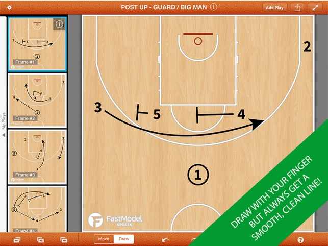 Fastdraw basketball on the app store ipad screenshots malvernweather Choice Image