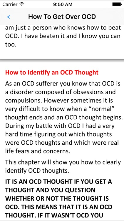 How To Get Over OCD. screenshot-2