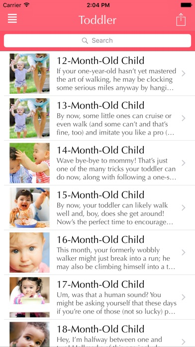 Your Toddler Development | bye-bye baby hello toddler here's your guide to the second year Screenshot on iOS