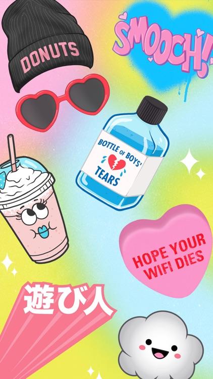 Super Cool - Emoji Stickers Series I