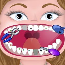 Little Princess Dentist Salon - crazy kids teeth doctor