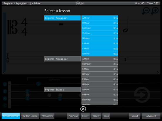 Learn & Practice Viola Music Lessons Exercises screenshot four