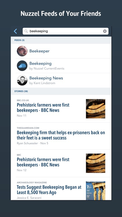 Nuzzel: News for Professionals screenshot-3