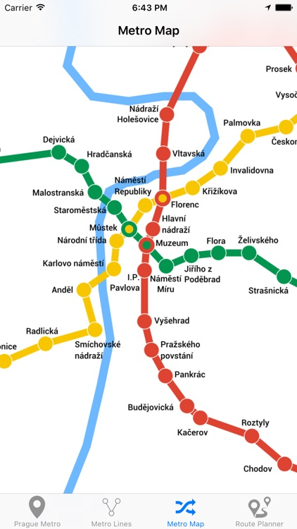 Prague Metro screenshot-3