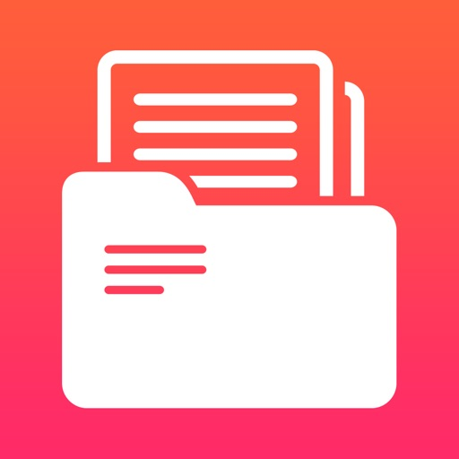 Files Manager Browser Documents - Cloud Storage File Organizer with Music & Video Multimedia Player