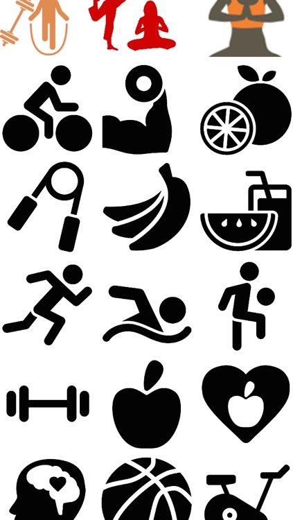 Fitness Emojis screenshot-3