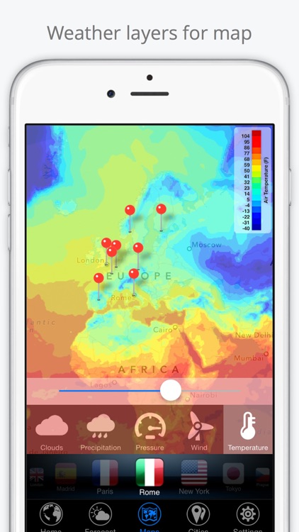 World Weather Forecast. Earth 3D Map and US Widget screenshot-3