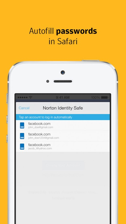 Norton Identity Safe – Secure password manager screenshot-4