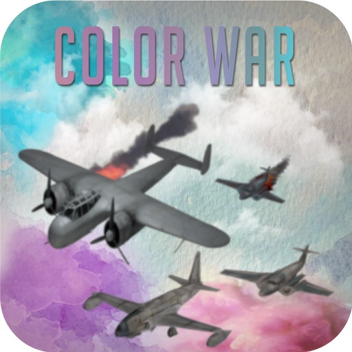 Color War Mortal Skies: Journey of Ultimate Force Hope! Air Combat Shooter