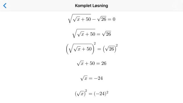 svære matematik ligninger