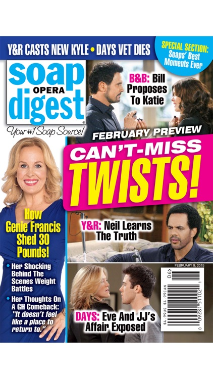 Soap Opera Digest screenshot-0