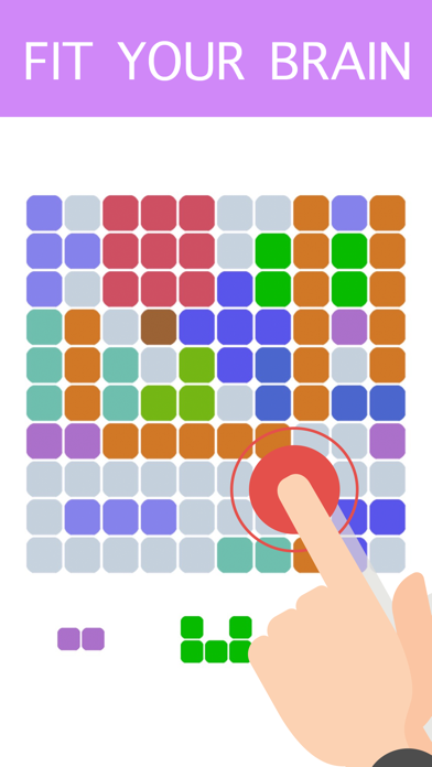 1010 Color Block Puzzle Free to Fit : Logic Stack Dots