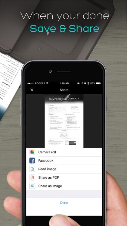 QuickScanner: OCR PDF Scanner & Printer for Documents Emails Receipts screenshot-4