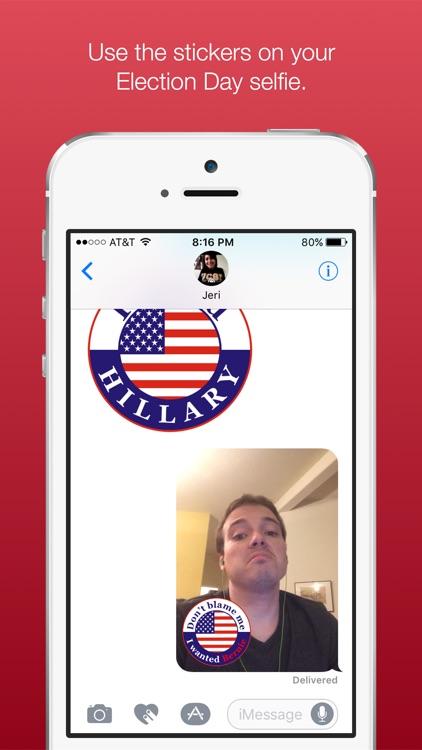 I Voted Stickers screenshot-3