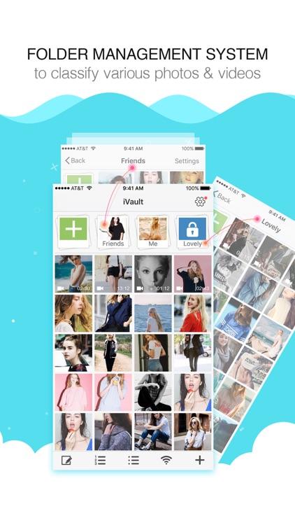 keep private photo safe - lock picture vault app