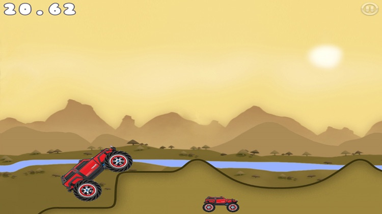 Super Hero Car Climb Racing screenshot-4