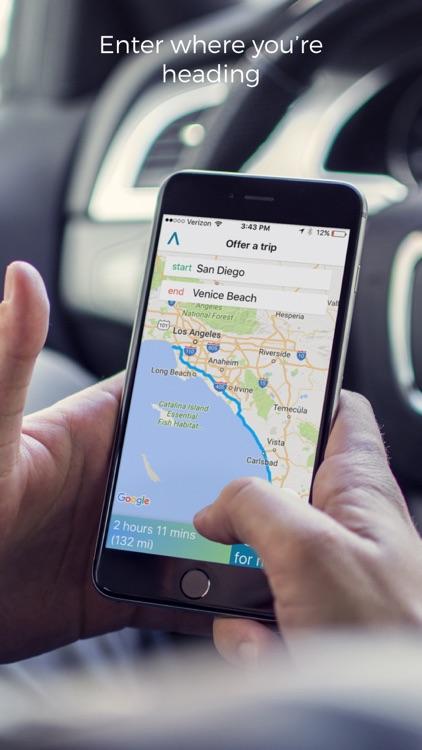 Atlas - Carpooling App