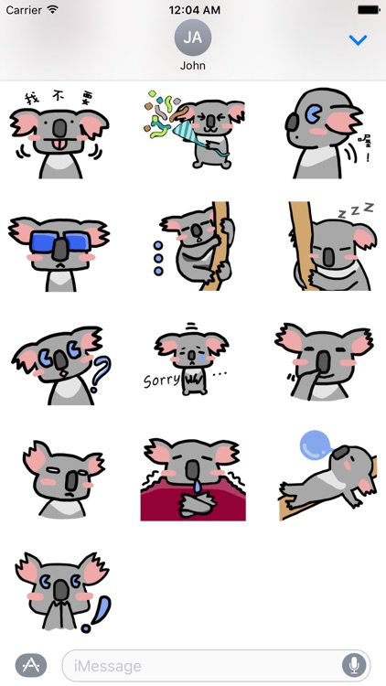 Lazzi The Koala Stickers screenshot-3