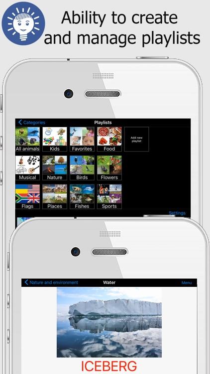 iSpeak flashcards for kids screenshot-3