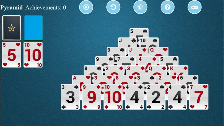 Pyramid Solitaire Z screenshot-3