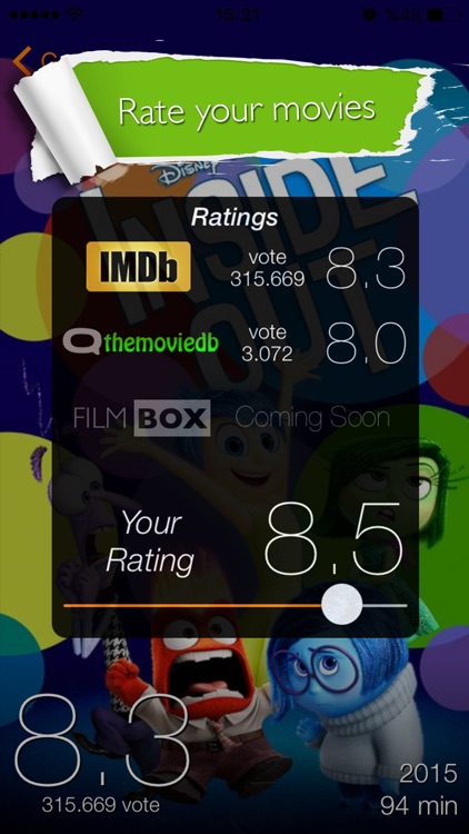 Filmbox App screenshot-4