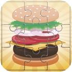 Продукты питания Burger головоломки - Варить головоломки игры для взрослых и ребенка свободного icon